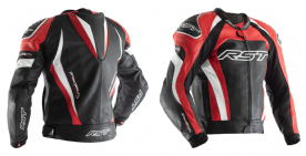 RST Tractech Evo 3 Red Leather Jacket